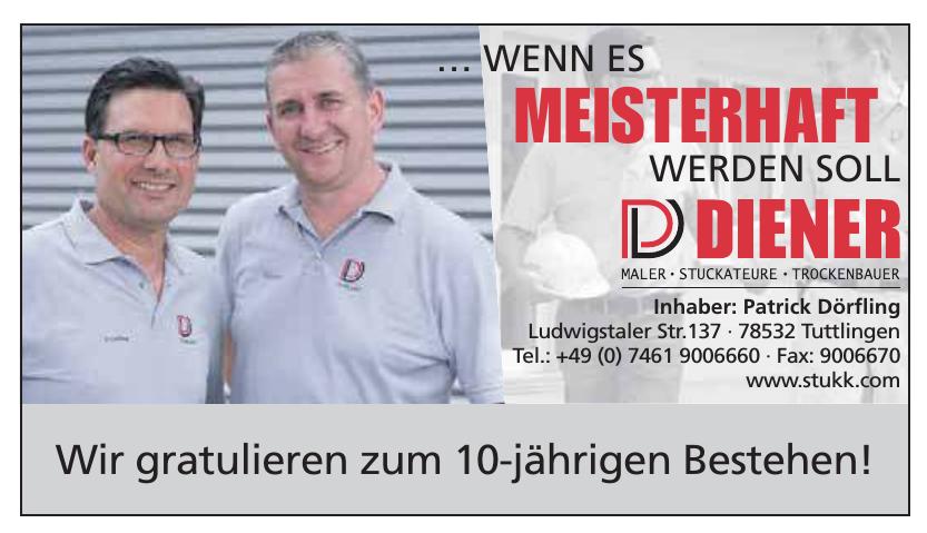Patrick Dörfling - Diener