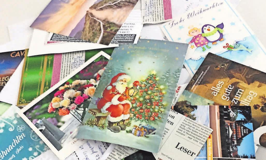 Das letzte Gewinnspiel im November bescherte uns viel weihnachtliche Post.