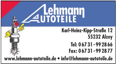 Lehmann Autoteile