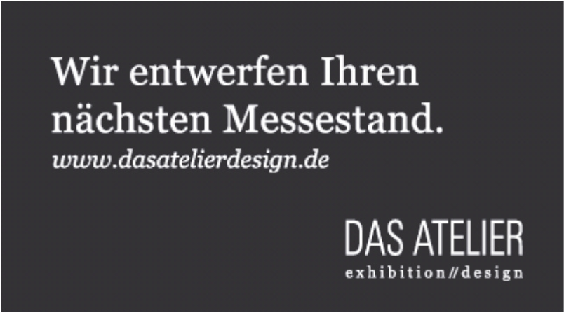 Das Atelier exhibition // design