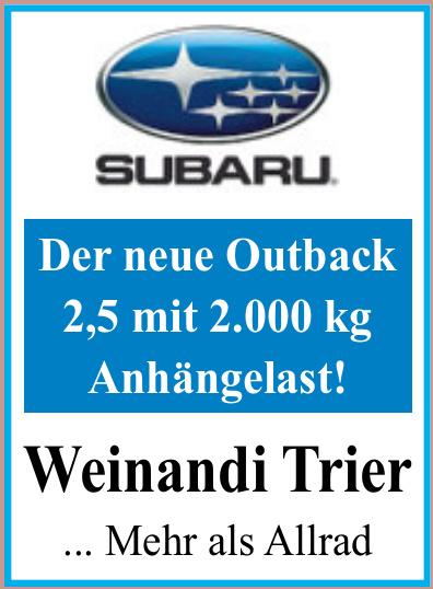 Subaru - Weinandi Trier