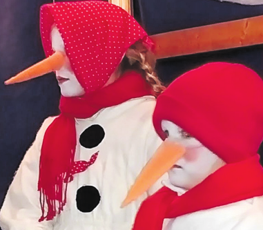 Kleine Schneemänner zu Gast.