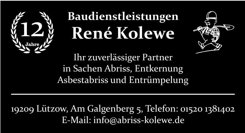Baudienstleistungen René Kolewe