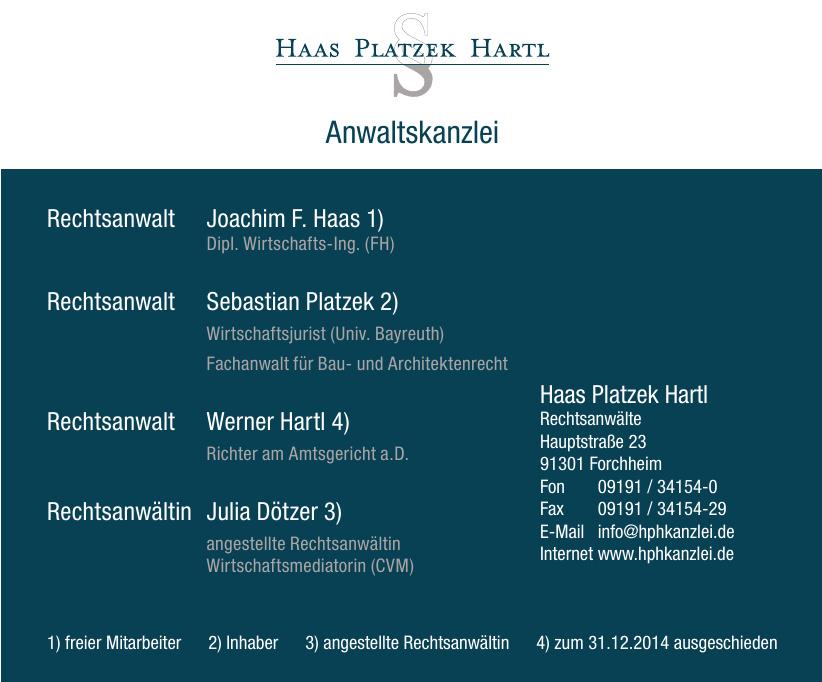 Haas Platzek Hartl
