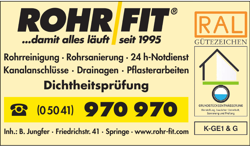 Rohr Fit