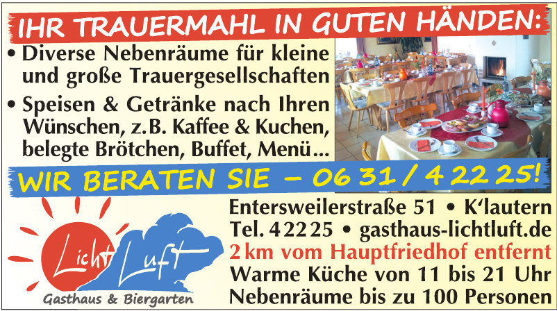 Licht Luft Gasthaus & Biergarten