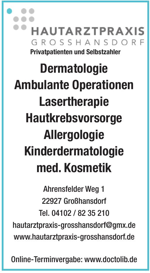 Hausarztpraxis Grosshansdorf