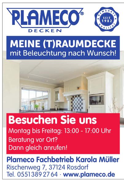 Plameco Decken - Plameco Fachbetrieb Karola Müller