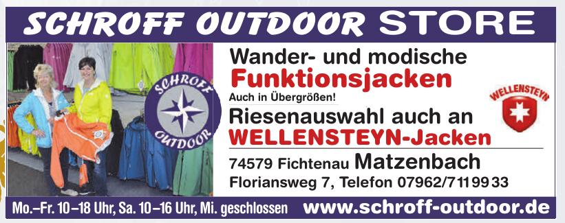 Schroff Outdoor Store