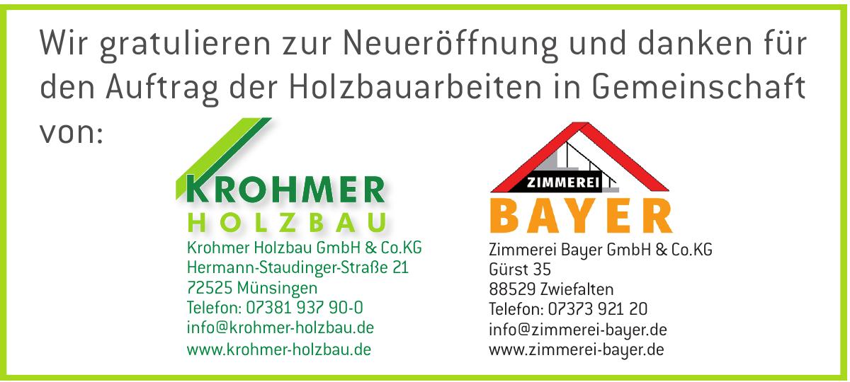 Krohmer Holzbau GmbH & Co.KG