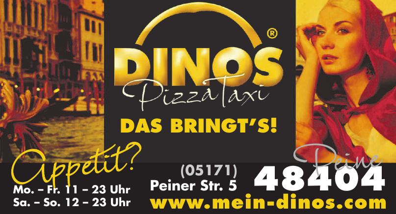 Dinos PizzaTaxi