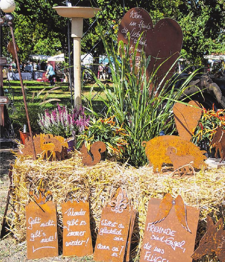 Auf kreative Ideen zum Bestaunen und auch zum Einkaufen dürfen sich die Besucher am Wochenende freuen.   Fotos: Veranstalter