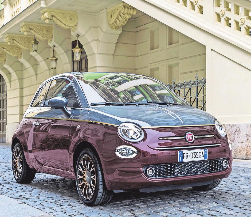 Warme und stilvolle Farbtöne: Der Fiat 500 Collezione.