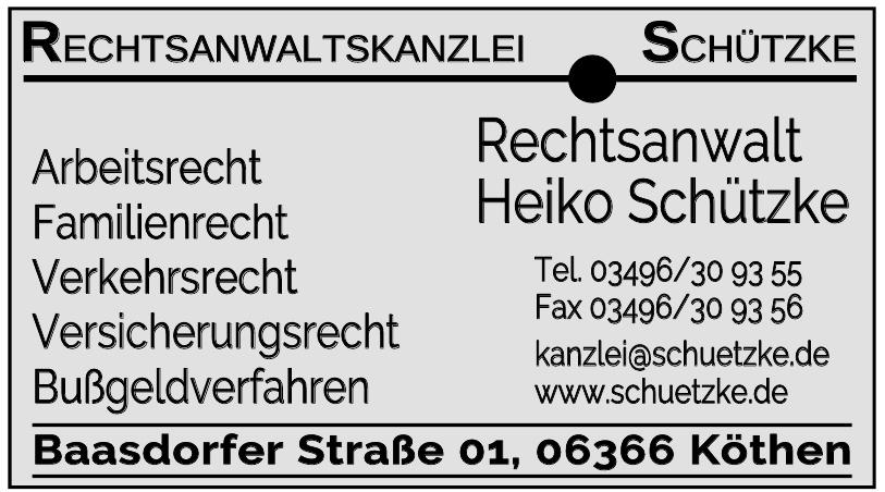 Rechtsanwalt Heiko Schützke