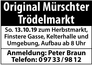 Original Mürschter Trödelmarkt