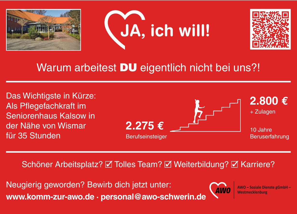 AWO - Soziale Dienste gGmbH Westmecklenburg