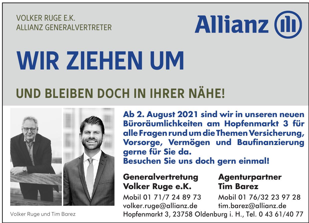 Allianz - Generalvertretung Volker Ruge e.K.