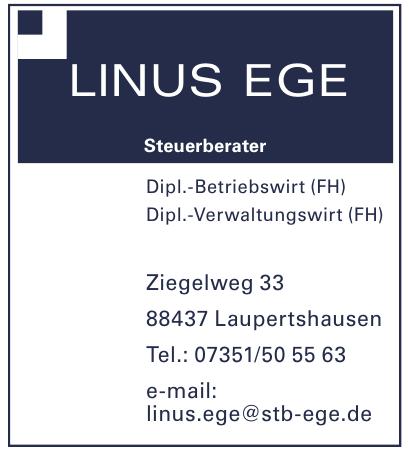 Linus Ege Steuerberater