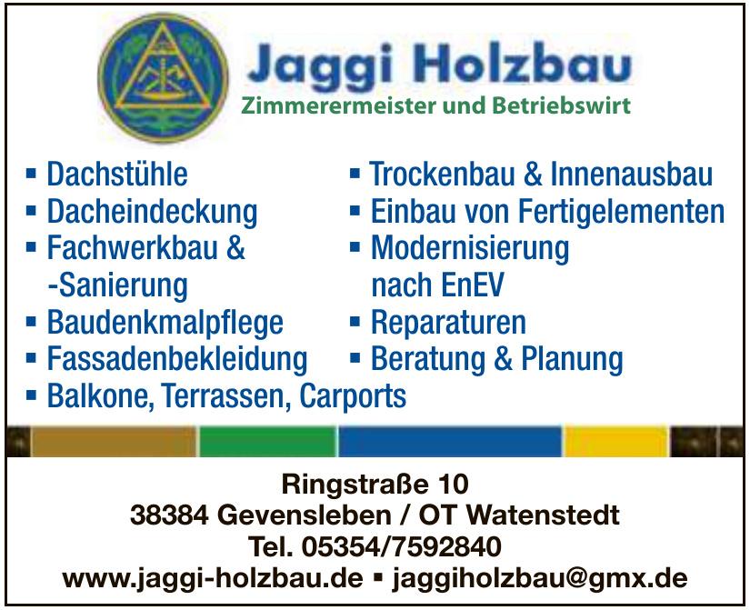 Jaggi Holzbau