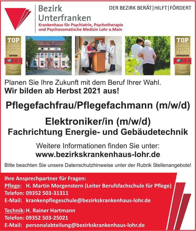 Bezirk Unterfranken - Krankenhaus für Psychiatrie, Psychotherapie und Psychosomatische Medizin Lohr a. Main