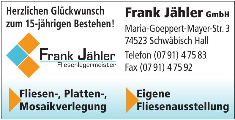 Frank Jähler GmbH
