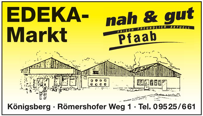 EDEKA-Markt Pfaab nah & gut