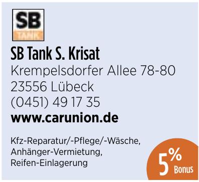 SB Tank S. Krisat