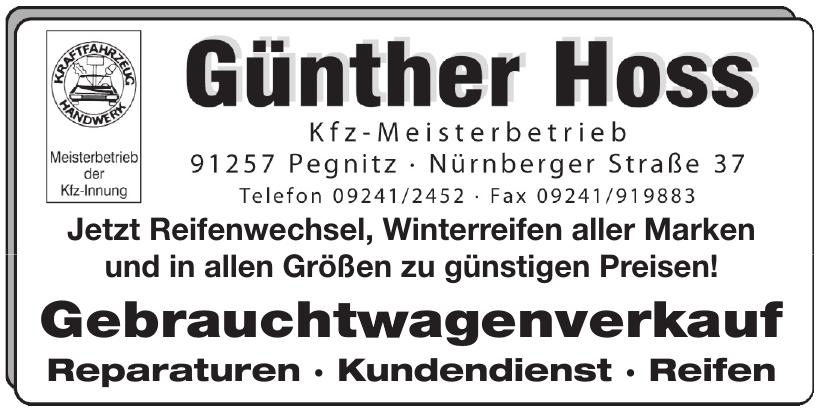 Günther Hoss Kfz-Meisterbetrieb