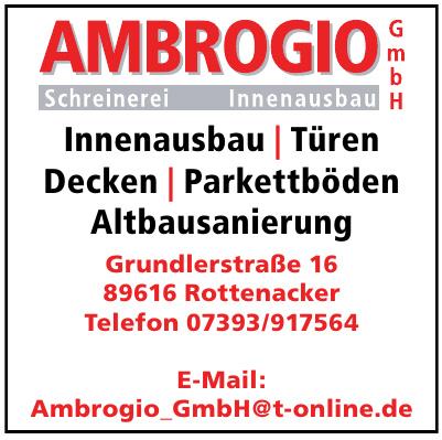 Ambrogio GmbH