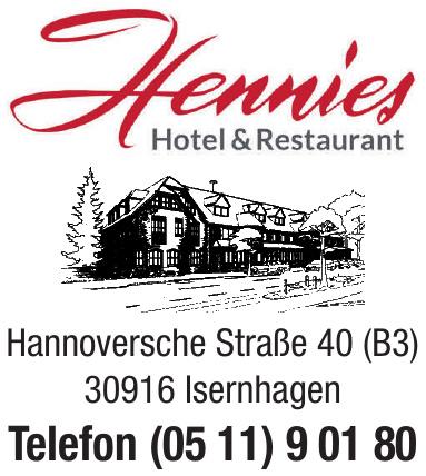Hennies Hotel & Restaurant