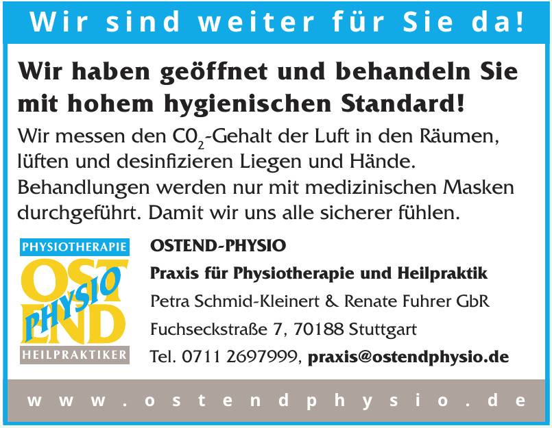 OSTEND-PHYSIO - Praxis für Physiotherapie und Heilpraktik
