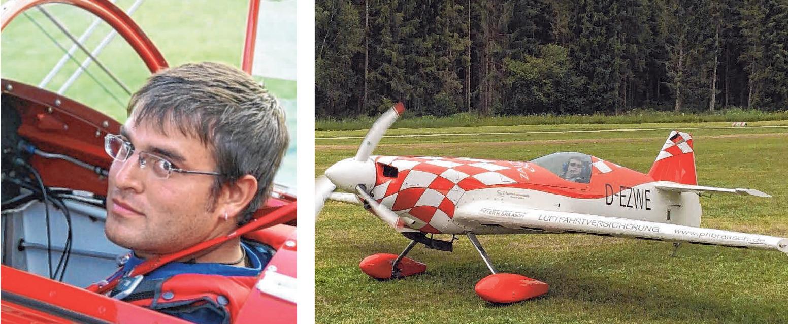 Auch Vorführungen mit Kunstflugzeugen wird es am Sonntag geben.
