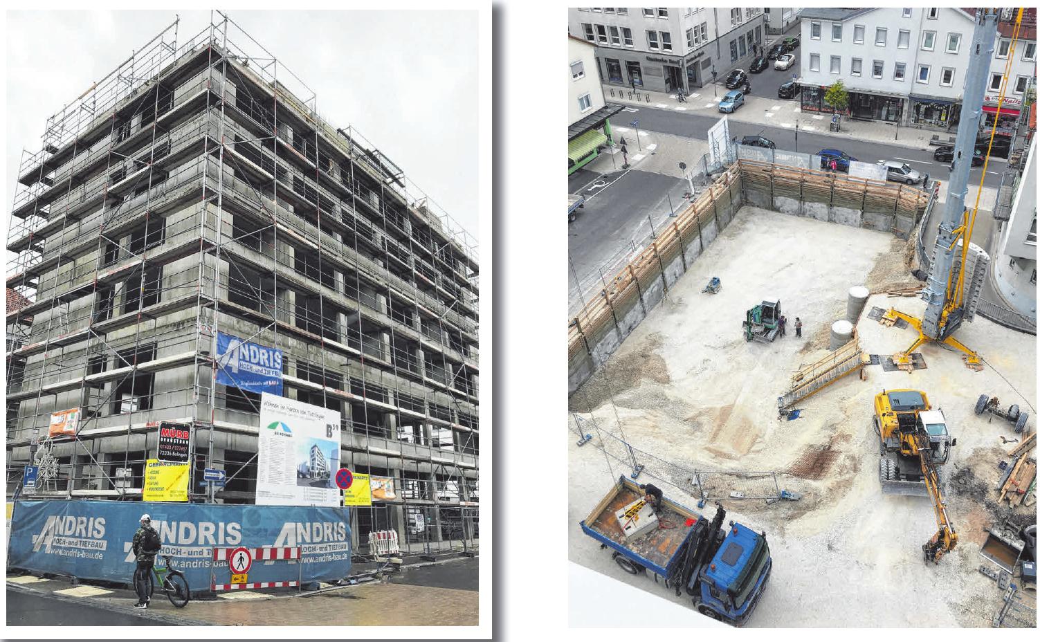 Qualität ab dem ersten Schaufelbiss: Das Bauunternehmen Andris führt zuverlässig alle Arbeiten des Hoch- und Tiefbaus aus. Foto: Andris