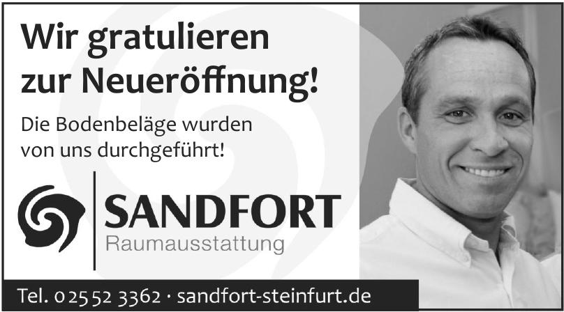 Sandfort Raumausstattung