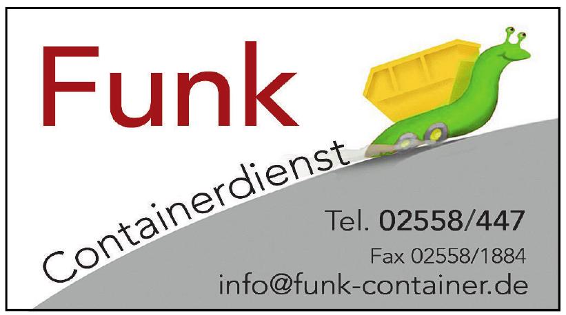 Funk Containerdienst