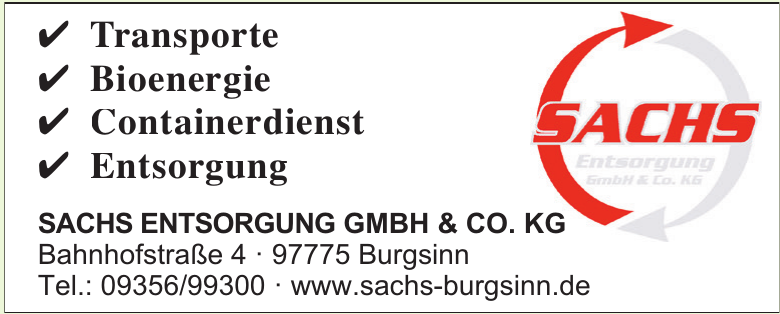 Sachs Entsorgung GmbH & Co. KG