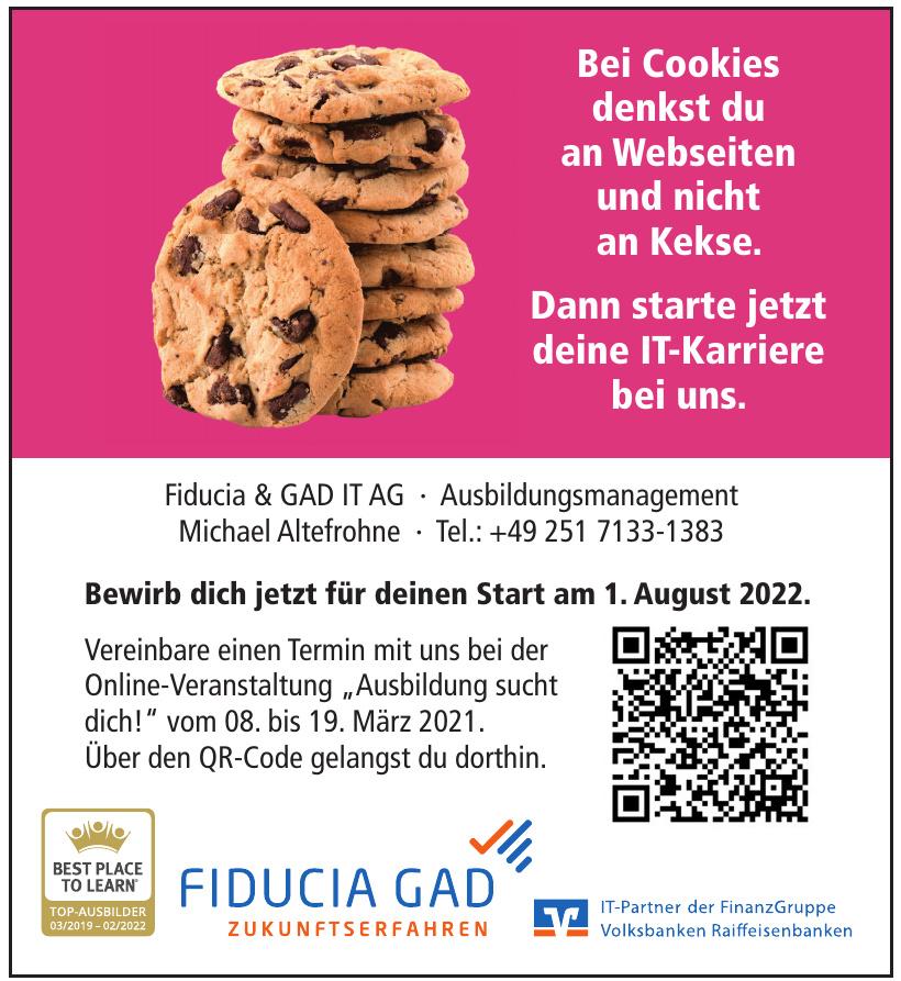 Fiducia & GAD IT AG Michael Altefrohne