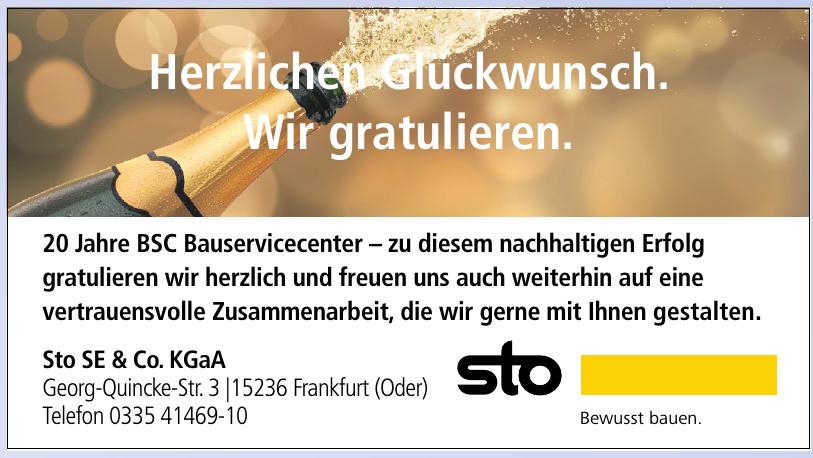 Sto SE & Co. KGaA