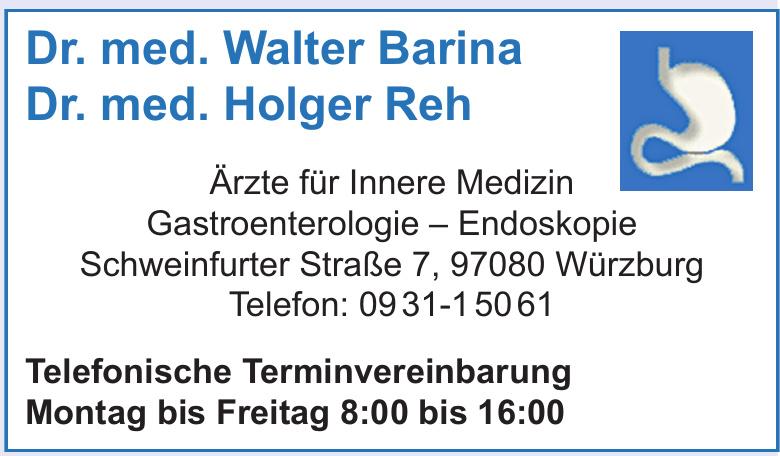 Dr. med. Walter Barina, Dr. med. Holger Reh