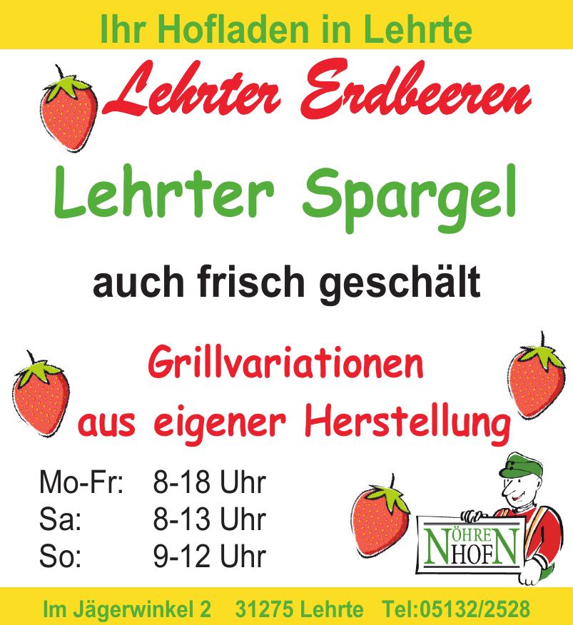 Lehrter Erdbeeren