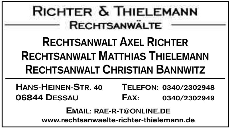 Rechtsanwälte Richter und Thielemann