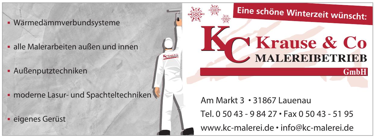 KC Krause & Co Malereibetrieb GmbH