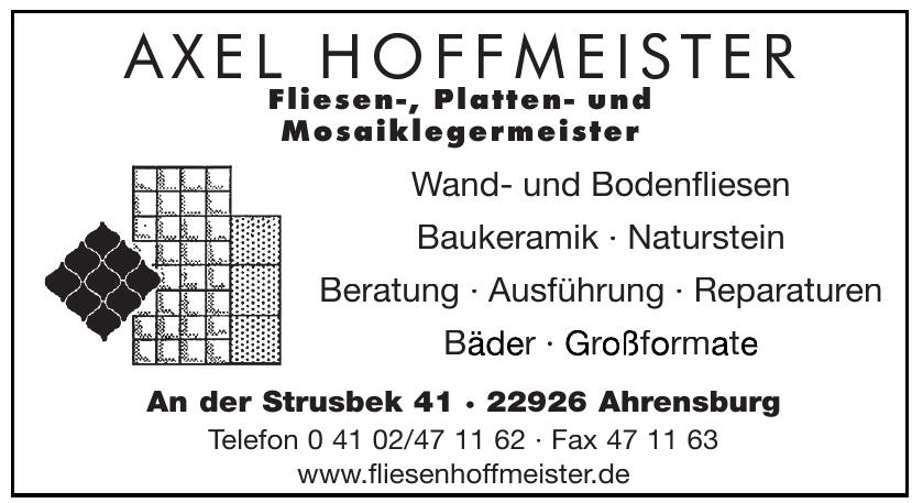Axel Hoffmeister