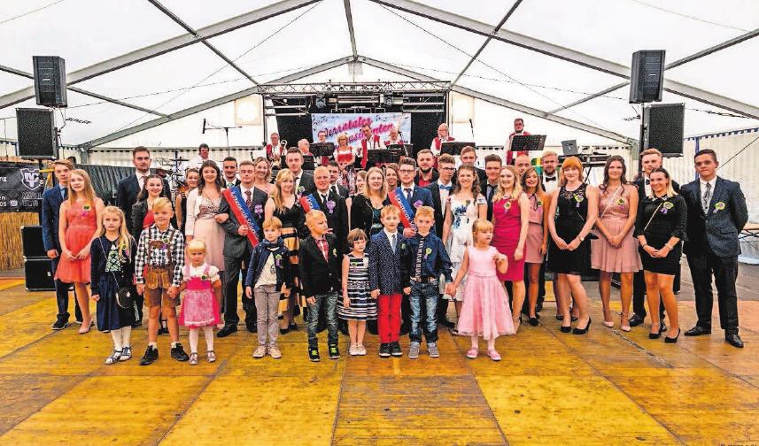 Die Kirmesgesellschaft freut sich auf viele Gäste zur diesjährigen Kirmes in Seligenthal. Fotos: Verein