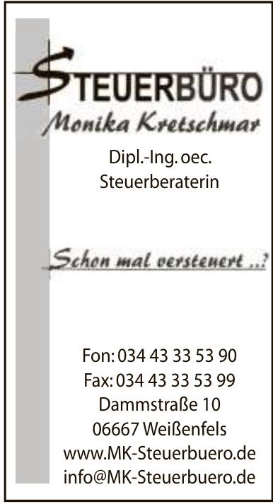 Steuerbüro Monika Kretschmar