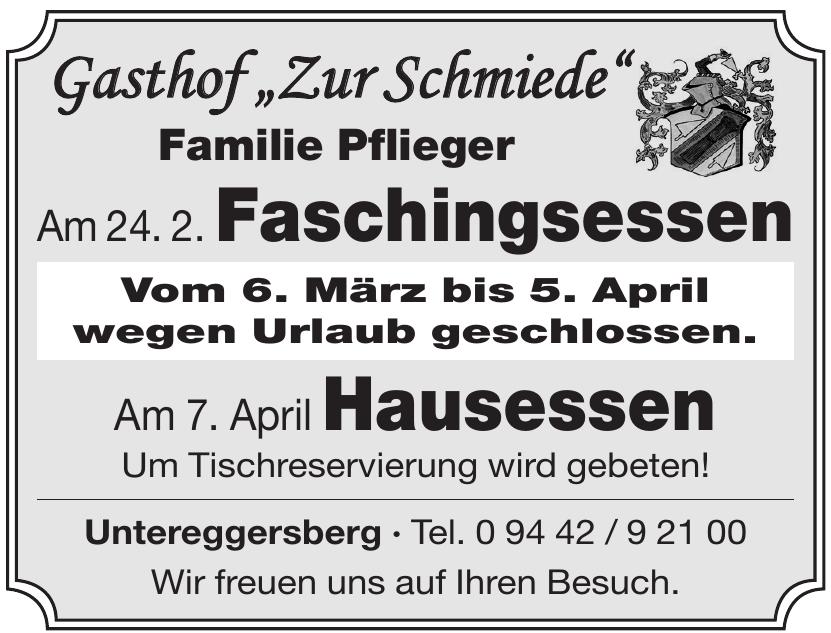 """Gasthof """"Zur Schmiede"""""""