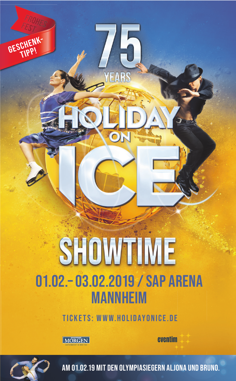 Holiday on ice schowtime