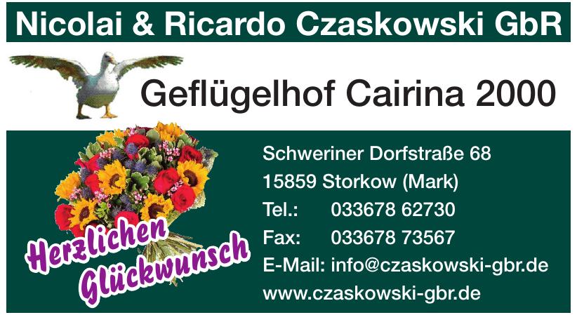 Nicolai & Ricardo Czaskowski GbR