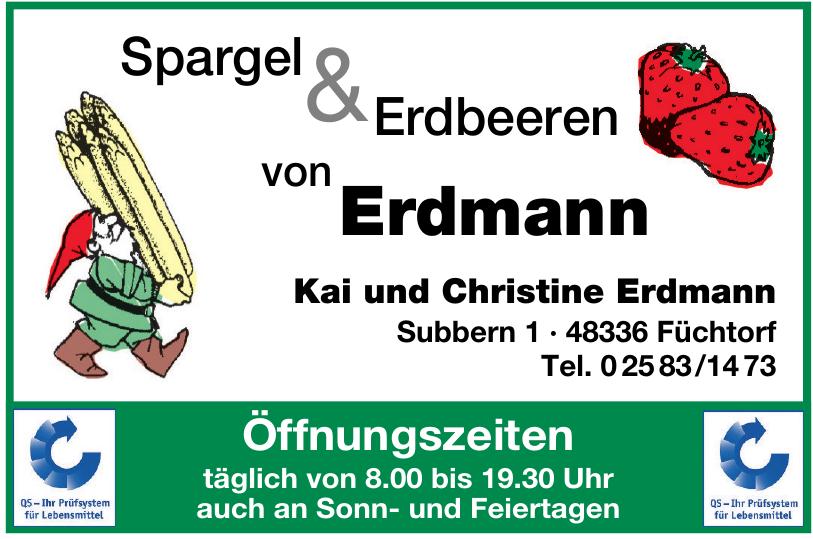 Spargel & Erdbeeren von Erdmann