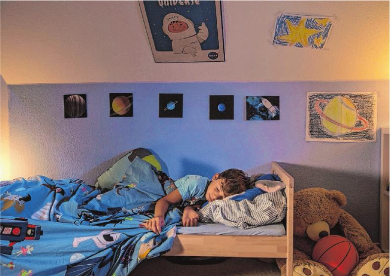 Entspannt und ohne Mückenstich durchschlafen. Insektenschutzgitter halten Fliegen und Co. draußen.